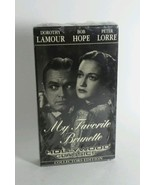 VINTAGE VHS MY FAVORITE BRUNETTE BLACK AND WHITE COLLECTORS EDITION (1947)  - $6.85