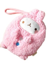 Molang Cosmetic Makeup Pen Strap Pouch Bag Case (Pink) image 8