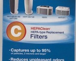 HONEYWELL ENVIRONMENTAL HRFC2 Hepaclean Replacement Filter, 2/pack