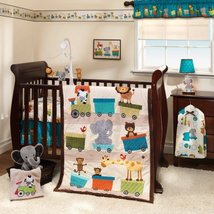 Bedtime Originals Animal Choo Choo Express 3-Piece Crib Set - $69.99