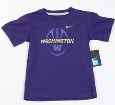 Nike Washington Huskies Purple Short Sleeve Tee T Shirt Little Boys Size... - $14.99