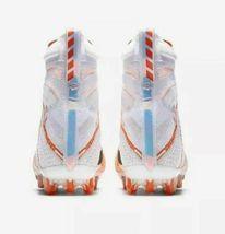 Nike Vapor Untouchable 3 Elite Football Cleats Orange White Size 11.5 AH7408-108 image 5