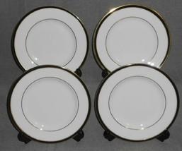 Set (4) Minton Saturn Pattern Bone China B&B/DESSERT Plates Made In England - $39.59