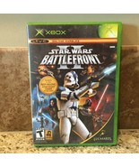 Star Wars Battlefront II 2 Original XBOX Black Label! - $19.34