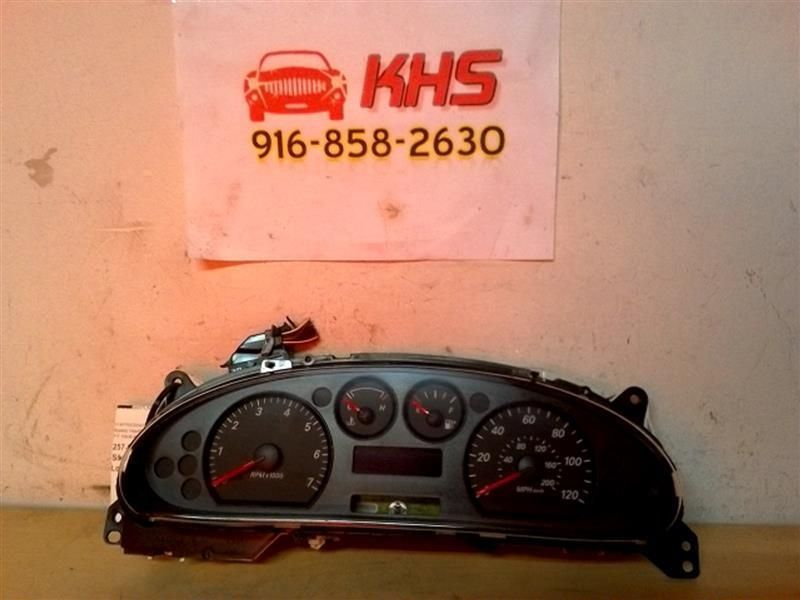 Primary image for Speedometer Cluster Message Center MPH Fits 05-07 TAURUS 185207