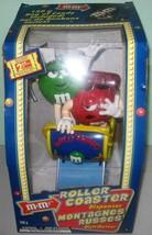 "M&M Roller Coaster ""Wild Thing"" Dispenser NRFB - $11.88"