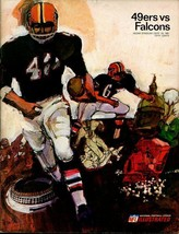 SAN FRANCISCO 49ERS VS ATLANTA FALCONS 9/24/1967-PGM VG - $55.87