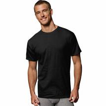 Hanes Men's FreshIQreg; ComfortSoftreg; Dyed Black/Grey T-Shirt 5-Pack - $21.26