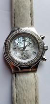 TechnoMarine Techno Diamond Bezel 1CT Chronograph Ladies MOP Diamond Dia... - $450.00