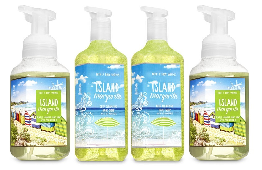 Island margarita gentle foaming deep cleansing soap set