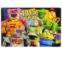 Toy Story Placemat With Buzz & Woody Straws! - $19.95