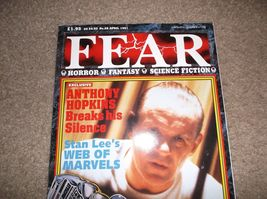 Fear Magazine # 28 * Stan Lee & Anthony Hopkins Interviews + Horror Films! NM- - $5.00