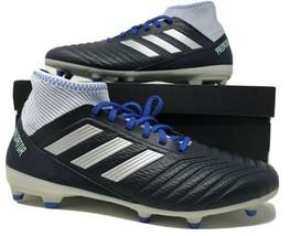Adidas Predator 18.3 FG Womens Soccer Cleats Legend Ink Blue Size 8 BD7299 - $44.00