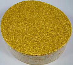 """50pc 12 """" Stick On Psa Sandpaper Disc 36 Grit A/O Gold Line Made In Usa Inch P36E - $29.99"""