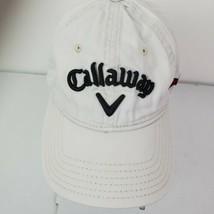 CALLAWAY Hex Black Tour Cap Authentic White Golf Hat XHot Odyssey Adjustable - $19.78