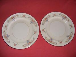 """2 Homer Laughlin Wedgwood 10"""" Dinner Plates Eggshell Georgian - $19.95"""
