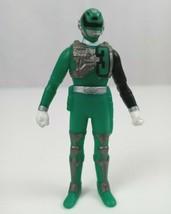 "2004 Bandai Power Rangers SPD Sound Patrol Green Ranger 3.5"" Vinyl  Figure - $9.74"