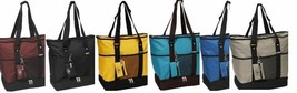 EVEREST Deluxe Shopping Tote Beach Travel Bag Insulated Compartment 1002DLX - $24.27 CAD