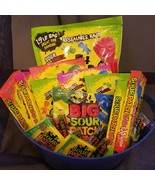 Sour Patch Candy Gift Basket  - $55.00