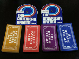 Game Parts Pieces American Dream Milton Bradley Money & 2 Salary Recorders - $7.82