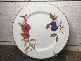 "Royal Worcester Evesham Gold Made in England Dinner Plate 10 1/8"" - $16.82"