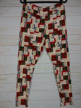 LuLaRoe TC2 Leggings - Santa & Mrs Claus - Christmas - Holiday NWT - A2617 image 3