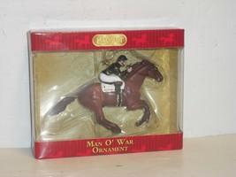 Breyer - MAN O' WAR Christmas Tree Ornament - MINT - New In Box - $45.00