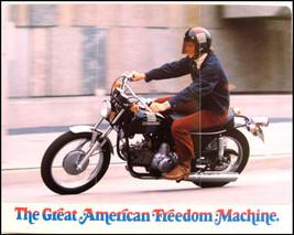1973 Harley-Davidson Original SS-350 Brochure Nos Amf - $16.81