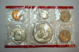 1977 Ike Silver Dollar Uncirculated Proof Set - £8.01 GBP
