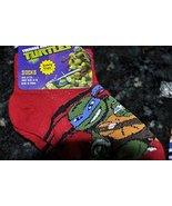 Teenage Mutant Ninja Turtles TMNT Sz 5-8 Leonardo Leo Red Black Boy Todd... - $2.86