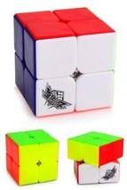 Kids Stickerless Cube Rubiks Rubic Educational Toys 2x2 Puzzle Rubix Rub... - $14.80