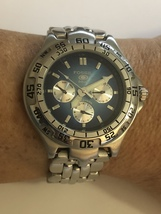 Fossil Blue BQ-9114 Multifunction Men's Blue Dial Stainless Watch - $29.95