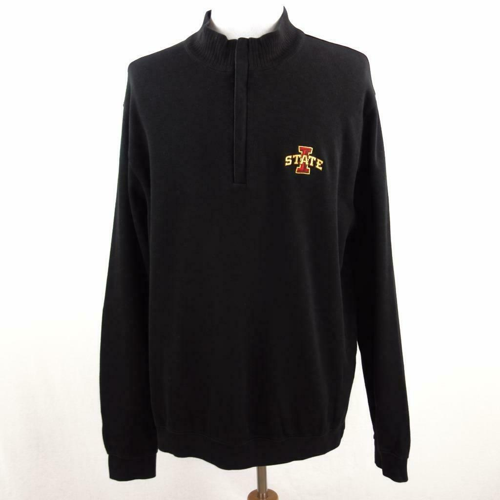 Primary image for Cutter & Buck Iowa State Cyclones 1/2 Zip Polo Sweater Sz 2XL