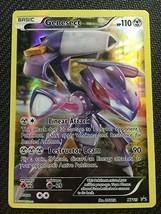 Pokemon TCG Mythical Genesect XY119 FULL ART Black Star HOLO Promo NEAR ... - $2.99