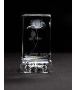 "Crystal Rose 3D ""I Love You"", 7 Color Changing LED light, Crystal Glass, Mothers - £23.01 GBP"