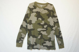 Old Navy Lightweight Thermal Shirt, Camouflage, Camo, Men's Large 9552 - $13.81