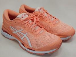 Asics Gel Kayano 24 Size US 7.5 M (B) EU 39 Women's Running Shoes Pink T799N