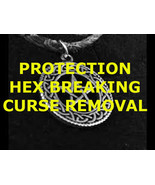 Protection spell, hex breaking spell curse removal, haunted magick spell - $33.30