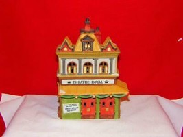 DEPT 56 DICKENS VILLAGE *THEATRE ROYAL* 55840 RETIRED IN BOX MINT - $21.78