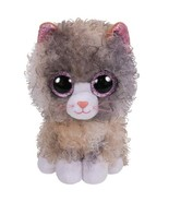 "Pyoopeo Ty Boos 6"" 15cm Scrappy the Curly Hair Cat Plush Regular Soft St... - $10.99"