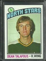 1976-77 TOPPS #103 DEAN TALAFOUS NORTH STARS NRMT FREE SHIPPING - $3.49
