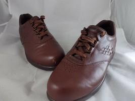 SAS Tripad Comfort Oxford Free Time Walking Shoe 10 M Brown Leather Lace... - $19.99