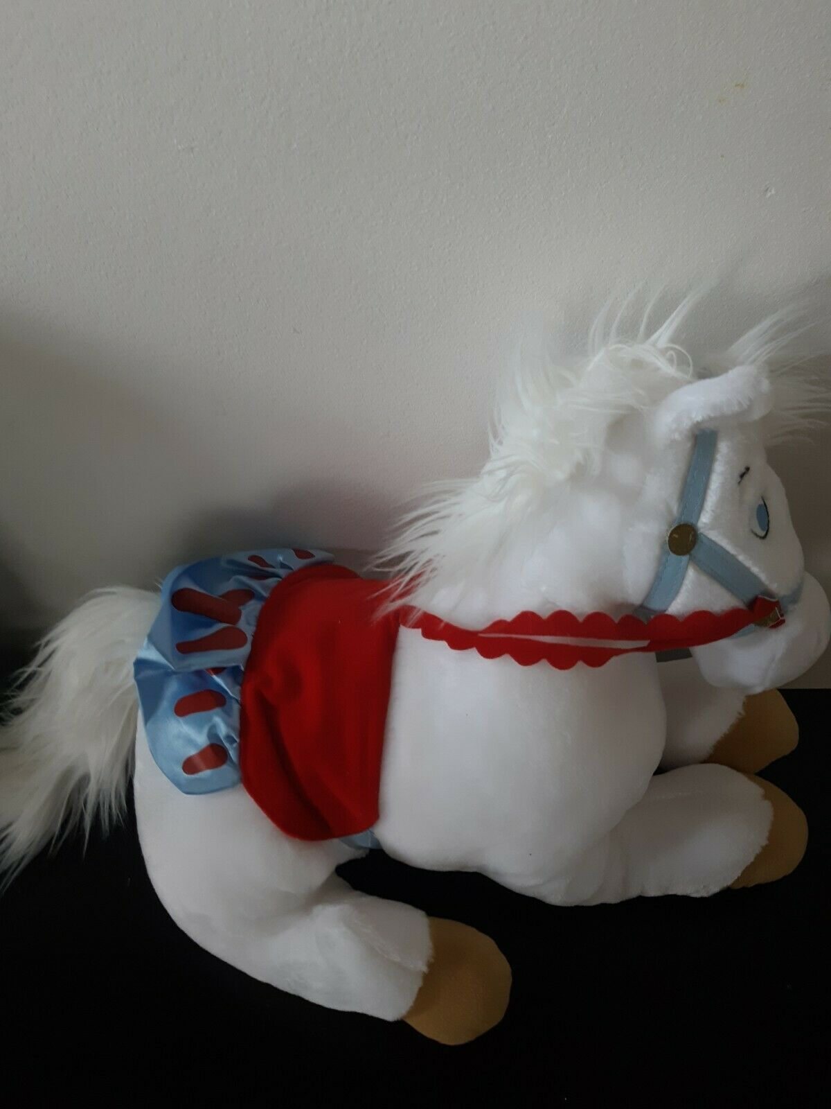 Disney Store Exclusive Princess Ponies Snow White Princess White Plush Stuffed