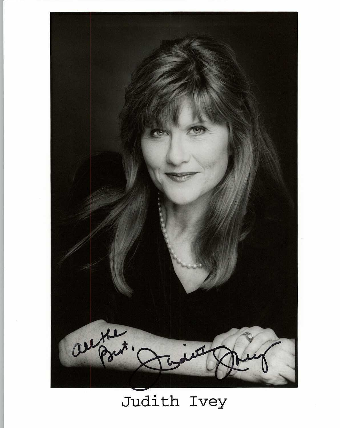 Primary image for Judith Ivey Signed Autographed Glossy 8x10 Photo