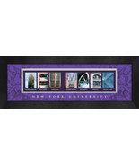 New York University (NYU) Officially Licensed Framed Campus Letter Art - $39.95