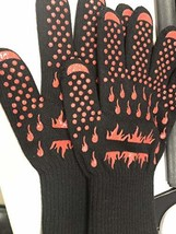 pensar Heat Resistant Gloves BBQgloves Grilling Gloves,Fireproof Gloves ... - $17.13