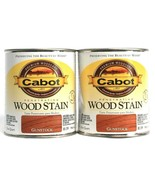 2 Cans Cabot 32 Oz Penetrating Wood Stain 8139 Gunstock Colorfast Fade R... - $27.99