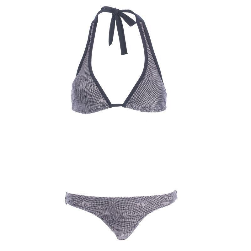 Iron Fist Damen Hot Netz Bikini Set Oberteil + Unten Badeanzug Nwt