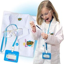 Lab Coat for Kids - Children's lab Coat with Adjustable Glasses & Person... - $19.62