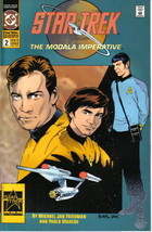 Classic Star Trek Modala Imperative Comic Book #2, DC 1991 NEAR MINT - $2.99